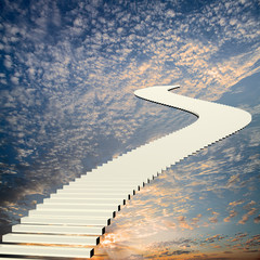 Stairway to the sky for adv or others purpose use