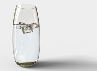 Glass Of Water Rounded