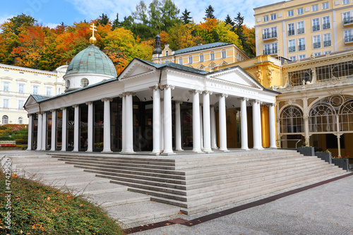 Marianske Lazne Spa, Cross Spring. Czech Republic.