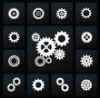 gearwheel mechanism icon