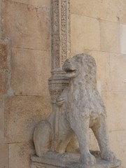 Sibenik - Cattedrale S. Giacomo - Leone