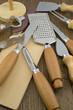 Coltelleria da cucina multiuso (sbucciatore, taglierino, ecc.)