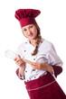 Attractive female chef