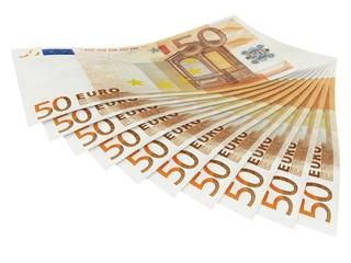 Geldfächer 50er