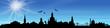 Skyline Dresden Sonne Himmel
