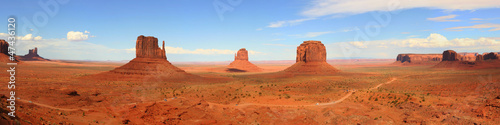 Tuinposter Canyon Monument Valley