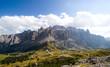 Grödner Joch und Sellagruppe - Dolomiten - Alpen