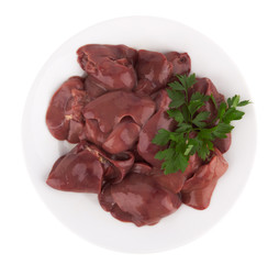 raw chicken liver