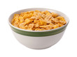 Corn Flakes Isolated with clipping path