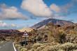 Winding Road to Teide Mountain, Tenerife