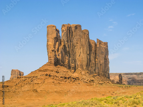 Monument Valley, beautiful sandstone rock Camel Butte