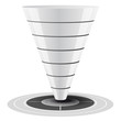 Vector conversion or sales funnel - customizable