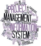 Word cloud for Project management information system