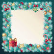 christmas frame decoration
