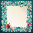 christmas frame decoration