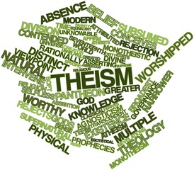 Word cloud for Theism