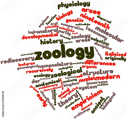 Word cloud for Zoology
