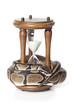 Snake with hourglass