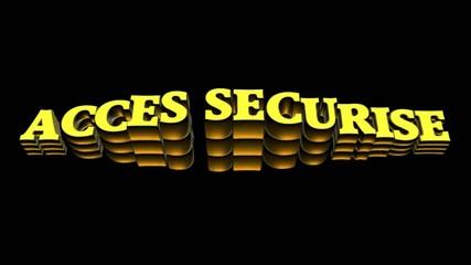 acces securise