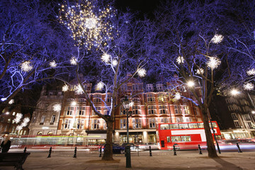 Christmas Lights Display in London