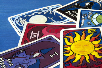 6 Karten der grone Arkana
