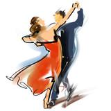 Fototapety Social dancing03