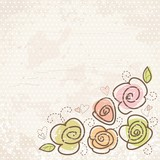 Fototapety Vintage background with flowers