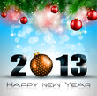 2013 New Year Celebration Background
