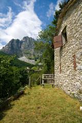 Monte Roccandagia da Campocatino , Toscana Italia