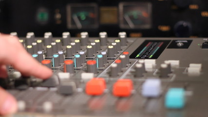 Working On Sound Mixer System