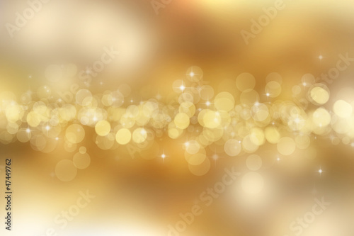 Gold christmas background