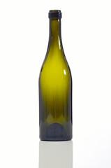 bottiglia vino verde