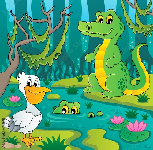 Swamp theme image 3
