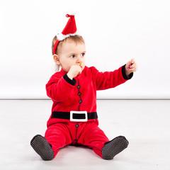 Santa Claus baby girl