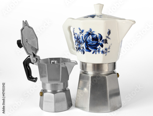 Two Italian Coffee Makers