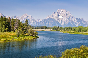 Parc national de Grand Teton, Wyoming USA
