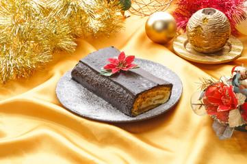 Tronchetto di Natale- Christmas cake