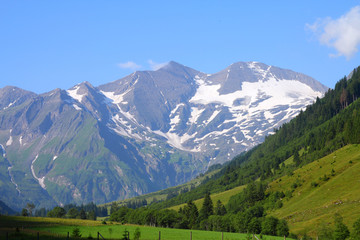 Hohe Tauern National Park in Austria