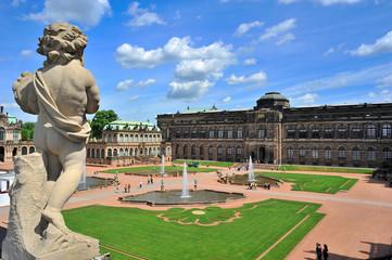 Dresden, Hofgarten im Zwinger