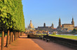canvas print picture - Dresden,Blick auf die Neustadt