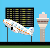 Take off vector design
