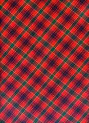 Scottish red pattern