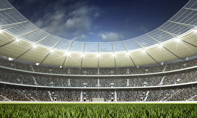 Fototapeta stadion murawa