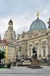 Dresden, Kunsthalle mit Denkmal