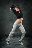 Fototapety tanzende Frau