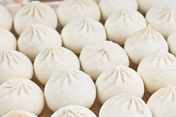 dumplings, molded by hand
