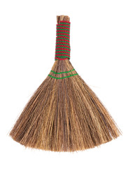 Broom from dry rattan