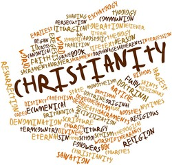 Word cloud for Christianity