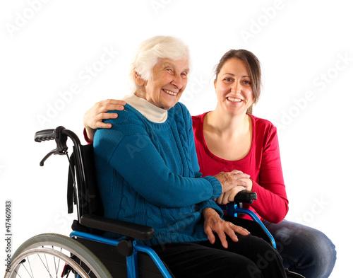 241112 Oma im Rollstuhl