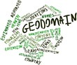 Word cloud for Geodomain